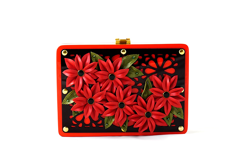Acryline Red Daisies